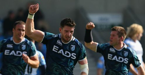 Alex Cuthbert of Cardiff Blues 2