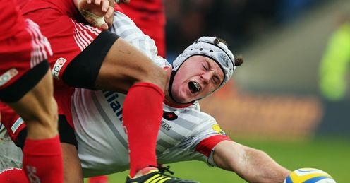 Andy Saull of Saracens