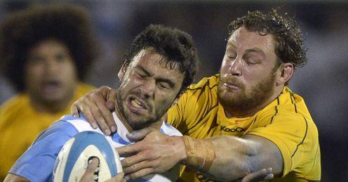 Argentina v Australia Martin Landajo Scott Higginbotham