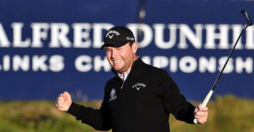 Hot favourite: Branden Grace