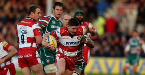 Freddie Burns Gloucester v Leicester