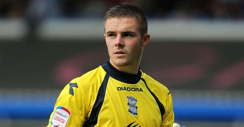Butland: the Birmingham custodian could be sold during the transfer window