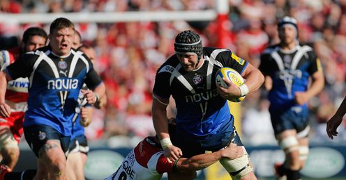 Carl Fearns: impressive for Bath