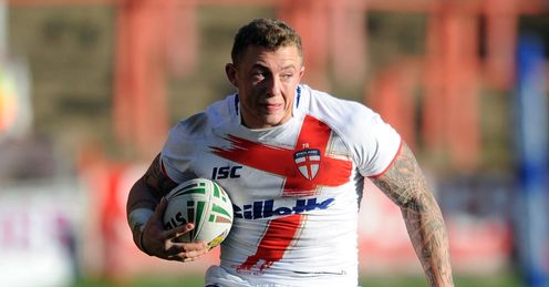 Josh Charnley Wales v England Autumn Series