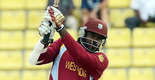 Chris Gayle West Indies New Zealand World Twenty20