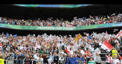 Dove Heineken Cup fans for comps