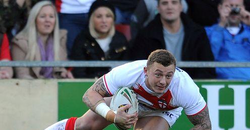 Josh Charnley England Wales