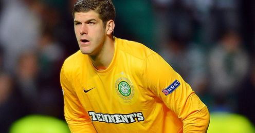 Fraser Forster: likely to be a very busy man on Tuesday, says Andy