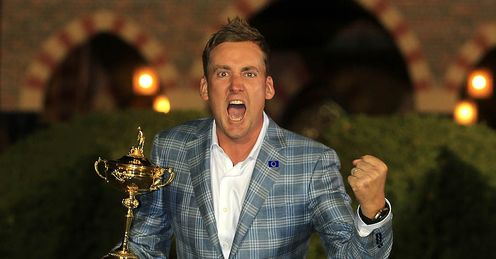 Medinah star Ian Poulter heads strong Ryder Cup field in Shanghai this week