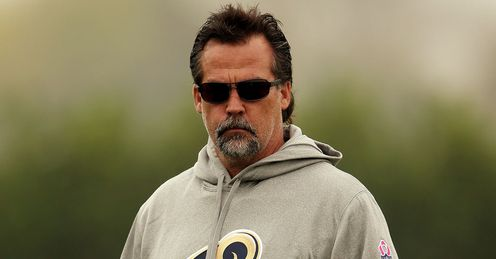Jeff Fisher: At the helm of an improved Rams side this year