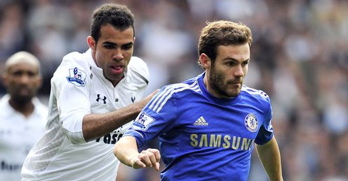 Maestro: Mata helped Chelsea conquer Tottenham on Saturday lunchtime