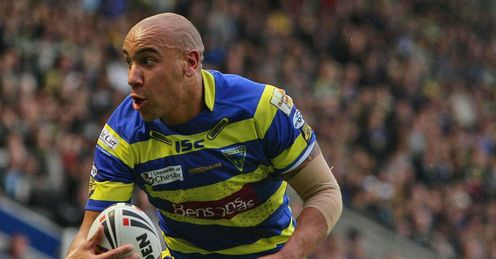 Matty Blythe Warrington Wolves 2011