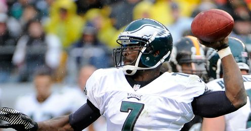 MIchael Vick: Has been turning the ball over too frequently