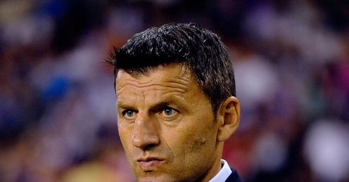 Djukic: parted company woth Valencia on Monday