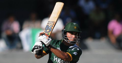 Nasir Jamshed goes on the attack for Pakistan against Australia ICC World Twenty20 Super Eights Colombo