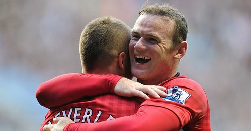Rooney: thrived in role at forefront of diamond