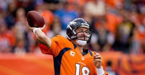 Peyton Manning: up against Tom Brady