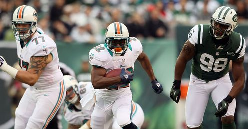 Bush: On the charge for the Dolphins
