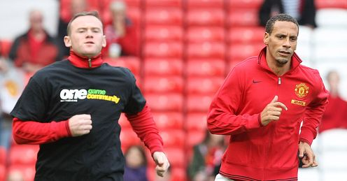 Wayne Rooney and Rio Ferdinand: players should not be forced to wear T-shirts, says Kammy