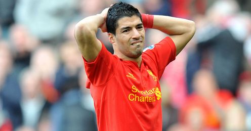 Suarez: did he go down too easily against Stoke?