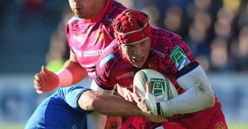 Tom Johnson of Exeter Chiefs