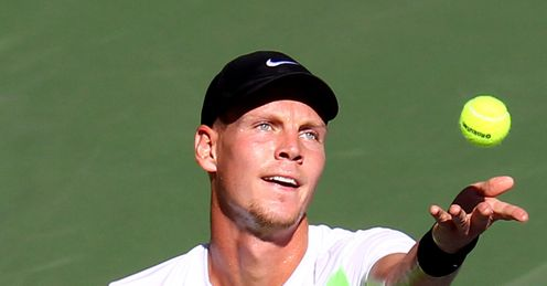 Czech point: Berdych will be a tough man to negotiate this autumn, says Barry