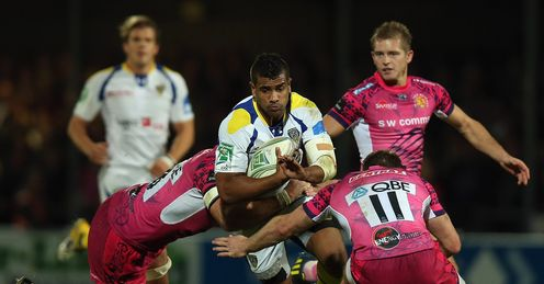 Wesley Fofana: can go round and through defences!