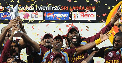 West Indies: their three-week party ended in glory