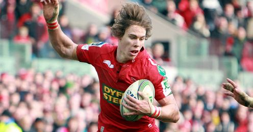 Liam Williams - Scarlets 2011/12 Heineken Cup