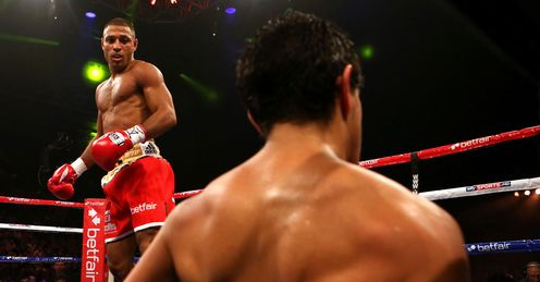 Brook was ruthless in booking a world title shot by stopping Saldivia