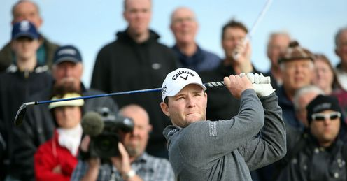 Branden Grace on his way to his Dunhill Links victory
