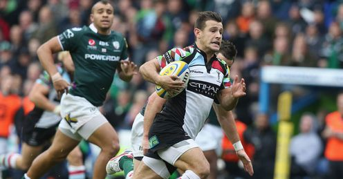 london irish v harlequins danny care try