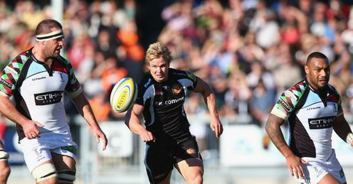 Jason Shoemark Exeter Chiefs