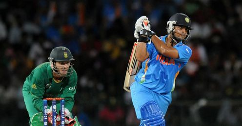 Suresh Raina India v South Africa World Twenty20 Super Eight RPS Colombo