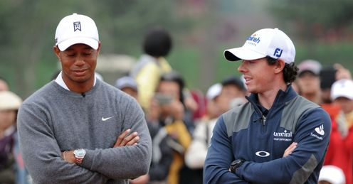 Woods and McIlroy: Just ordinary pros - for now