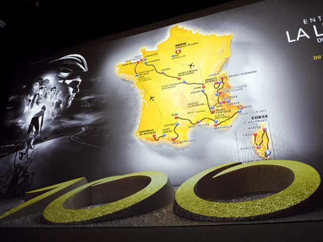 The route for the 100th edition