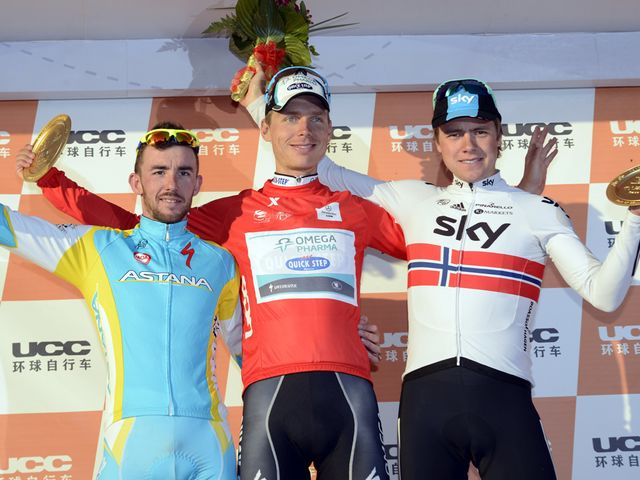 Boasson Hagen: On the final podium