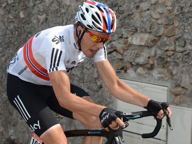 Boasson Hagen: Mounted a brave late attack