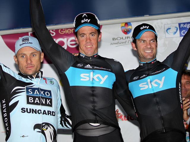 Hayman and Henderson on the podium in 2010