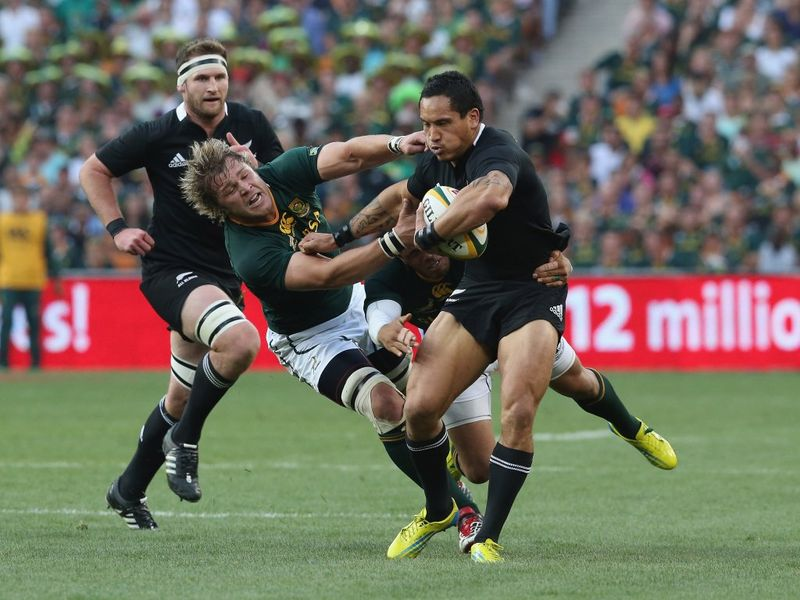 Gallery: Springboks 16 All Blacks 32