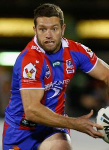 Danny Buderus Newcastle Knights 2012