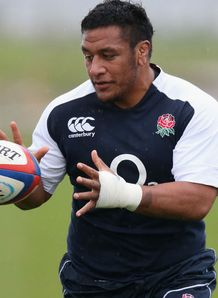 Mako Vunipola England training 2012