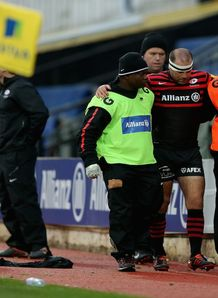 charlie hodgson saracens injured