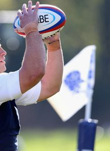 Tom Youngs England training 2012