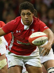Toby Faletau Wales v Argentina 2012