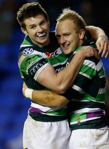 Shane Geraghty Conor Gaston London irish