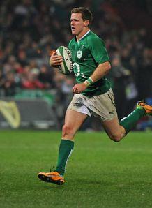 Craig Gilroy Ireland v Fiji 2012