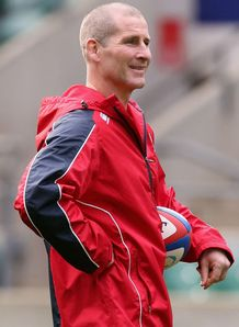Stuart Lancaster England 2012