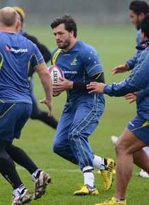 Adam Ashley Cooper Wallabies training 2012