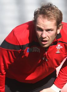 Alun Wyn Jones Wales RWC 2011
